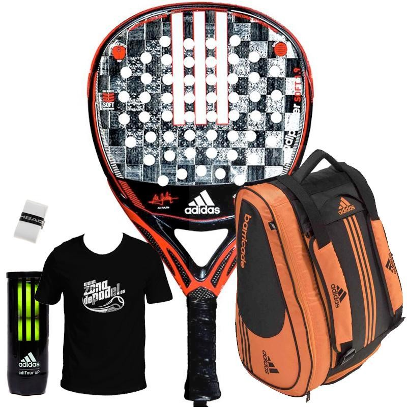 Pack Adidas Adipower Attack Soft 1.9 + Paletero 2019