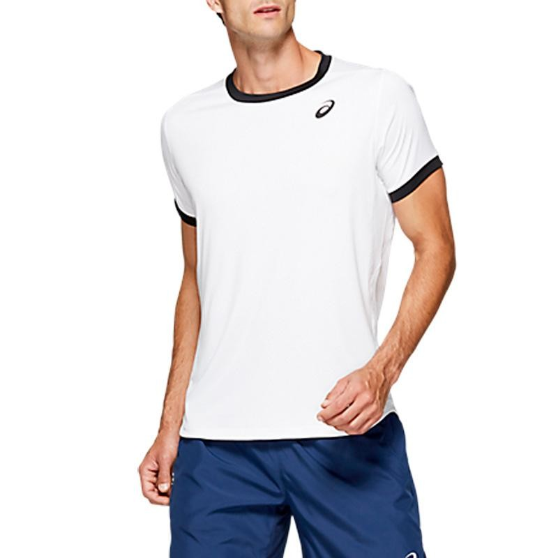 Camiseta asics Club SS Top Brilliant White 2019