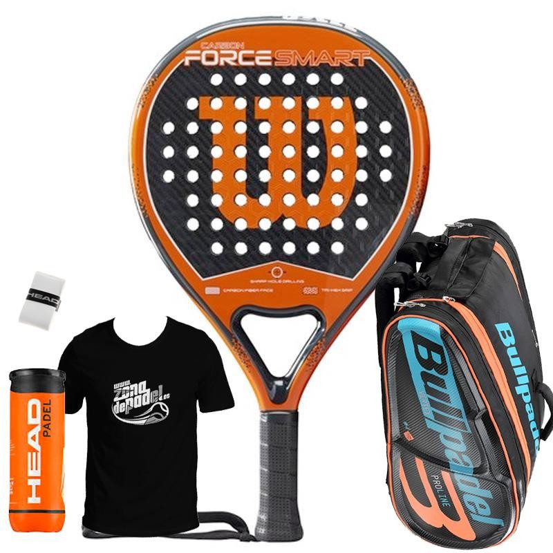 Pack Wilson Carbon Force Smart + Paletero 2019