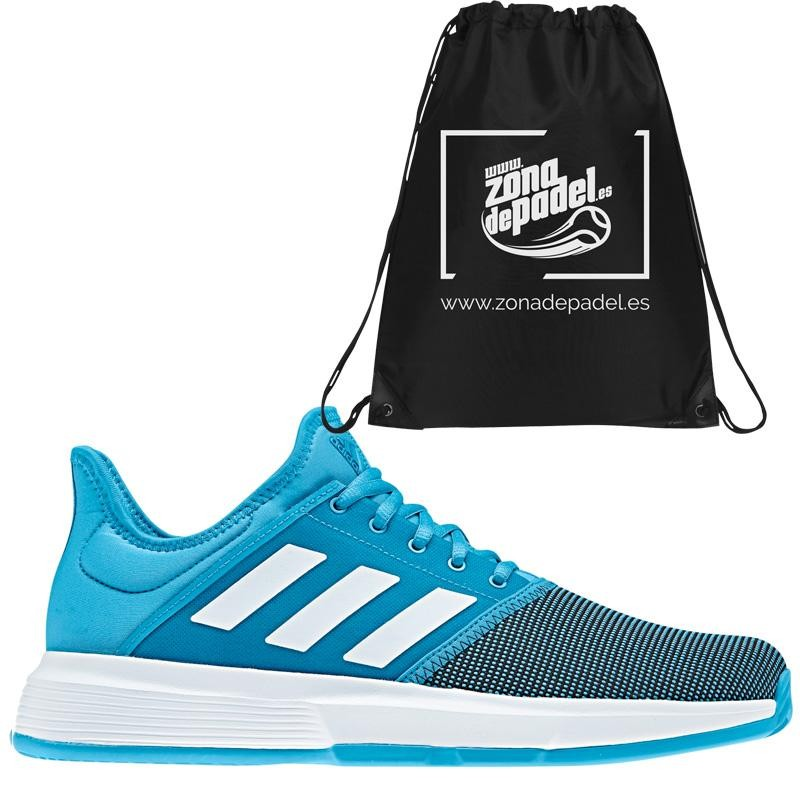 Zapatillas Adidas Game Court Shock Cyan 2019