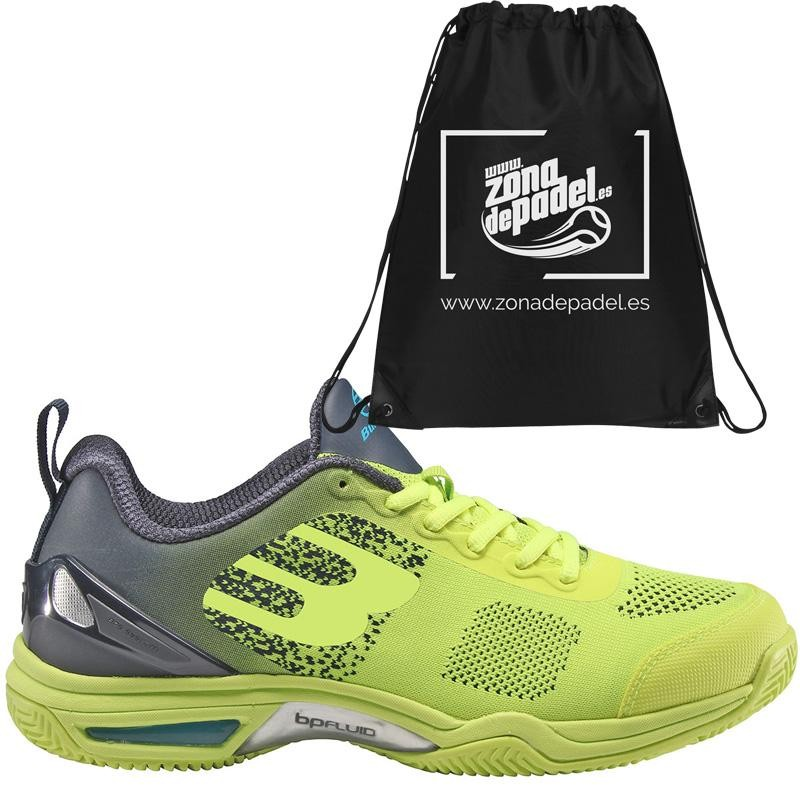 Zapatillas Bullpadel Bewer Verde Fluor 2019