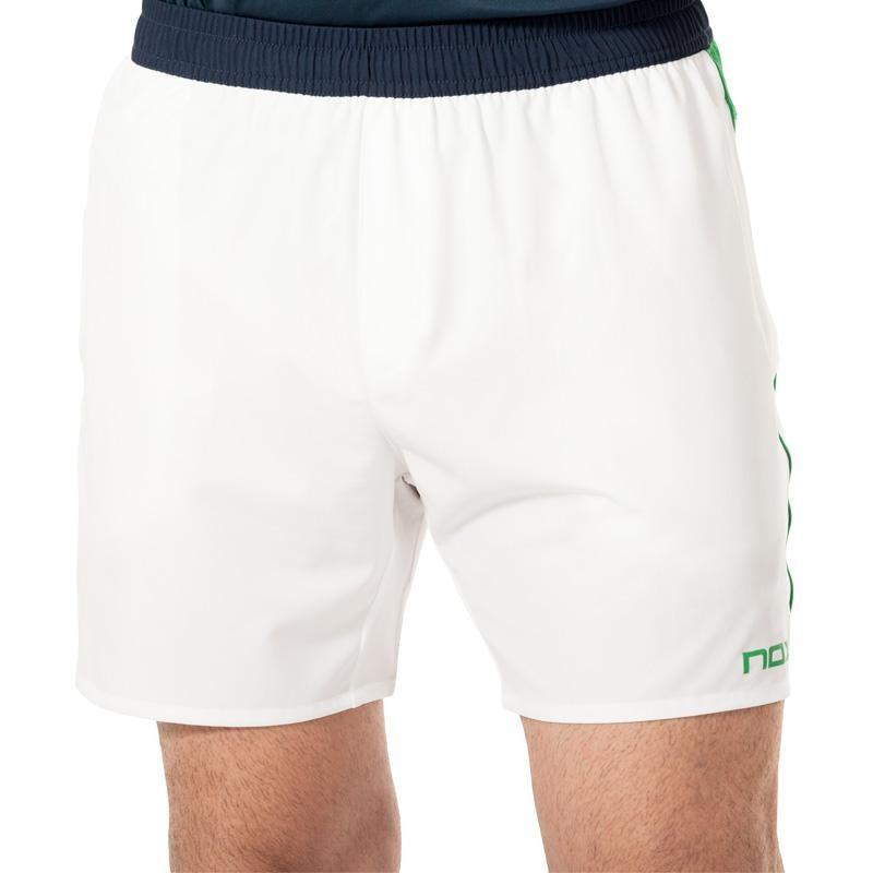 Pantalon Nox Pro Blanco Logo Verde 2019
