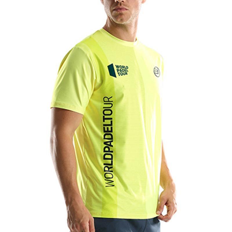 Camiseta Bullpadel Tugo WPT Amarillo Limon Fluor 2019