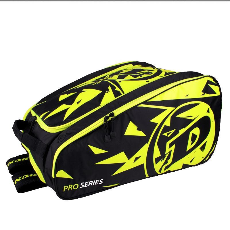 Paletero Dunlop Pro Team Black Yellow 2019