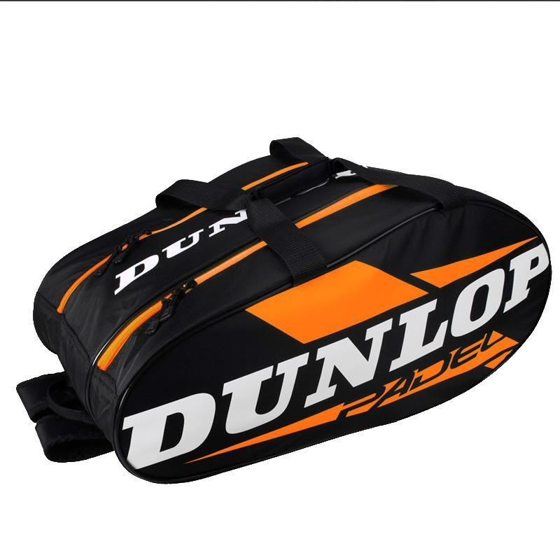 Paletero Dunlop Play Black Orange 2019