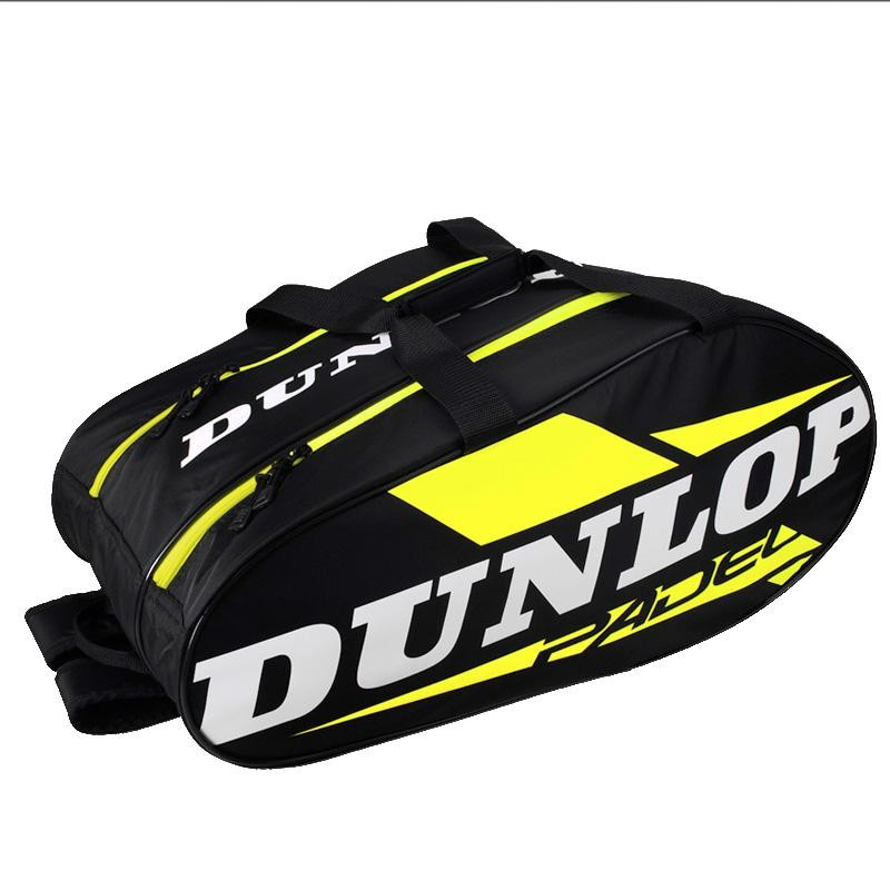 Paletero Dunlop Play Black Yellow 2019