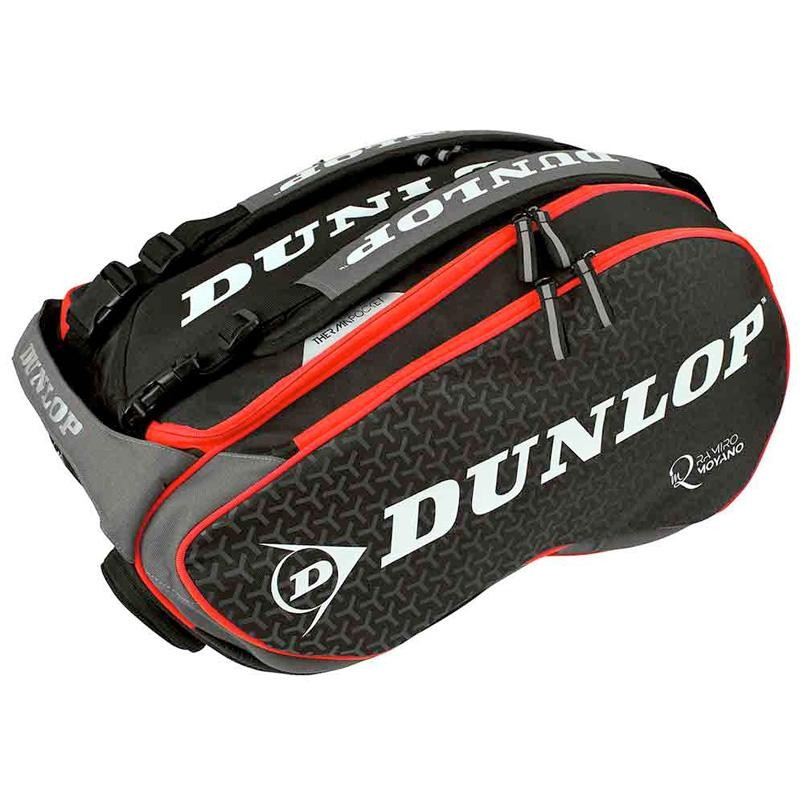 Paletero Dunlop Elite Black Red 2019