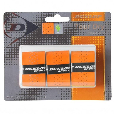 Dunlop Overgrip Tour Dry Orange