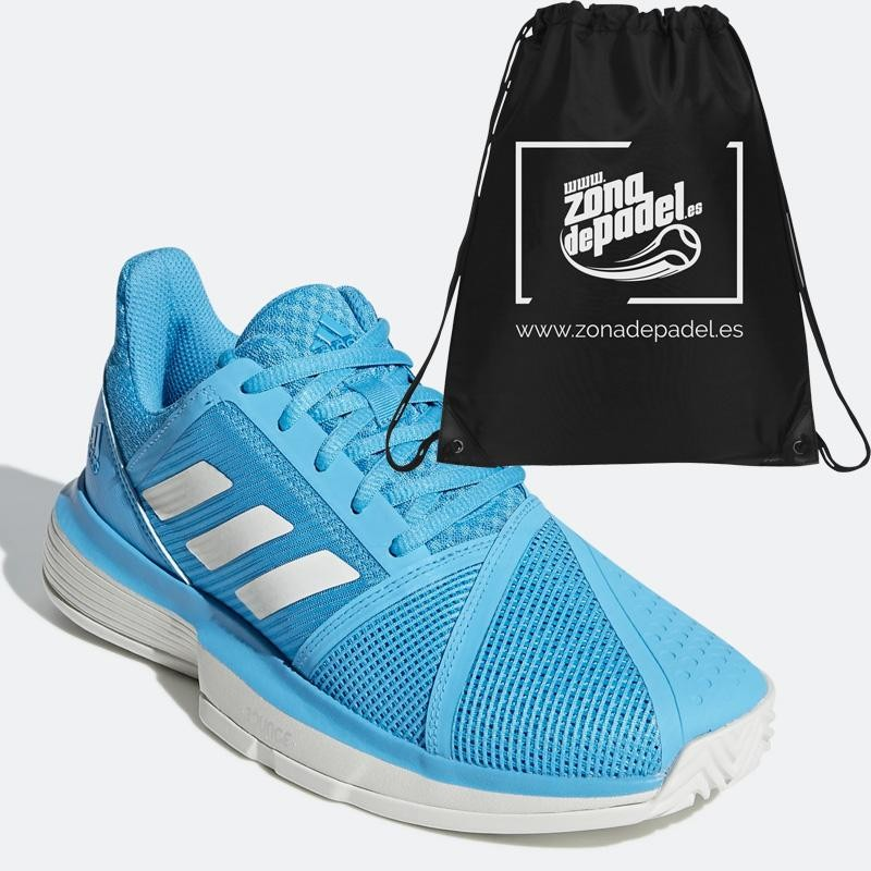 Zapatillas Adidas Court Jam Bounce W Shock Cyan 2019