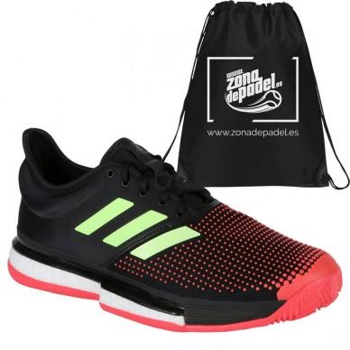 5dd0f7bcfe1 Adidas Zapatillas Solecourt Boost Shock Red 2019