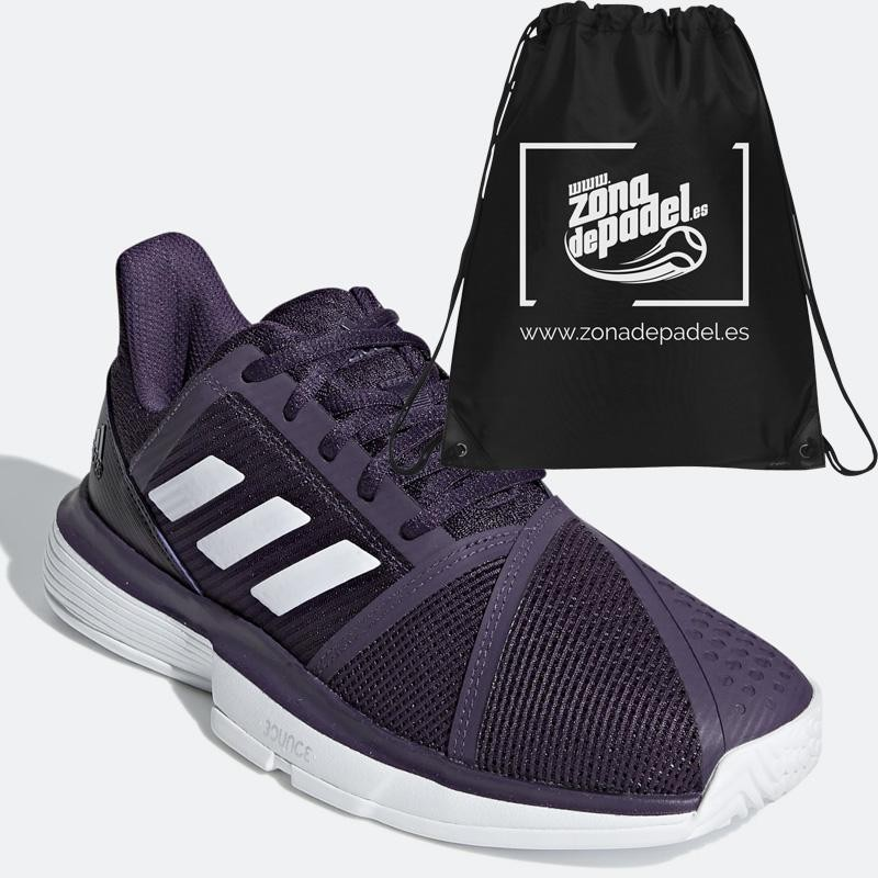 Zapatillas Adidas Court Jam Bounce W Legend Purple 2019