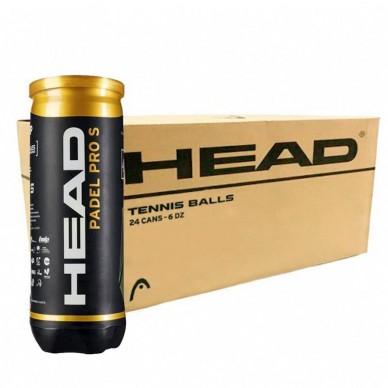 Head Cajón Pelotas Head Padel Padel Pro S 24 x 3