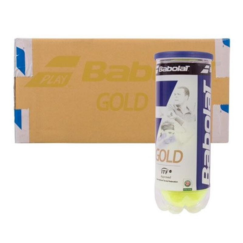 Cajón Pelotas Babolat Tenis Gold 24 x 3