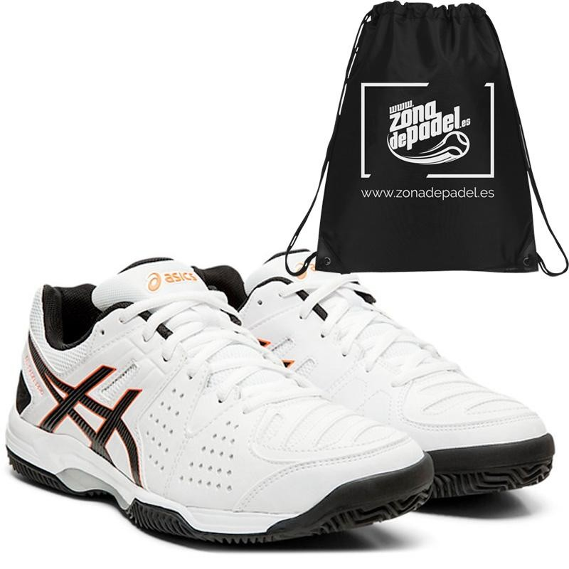 Zapatillas aSICS Gel Padel Pro 3 SG White Black 2019