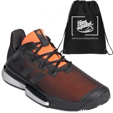 Zapatillas Sole Match Bounce Clay Black Orange 2019