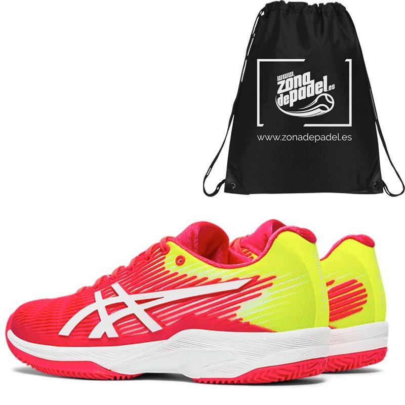 Zapatillas Asics Solution Speed FF Clay Laser Pink White 2019