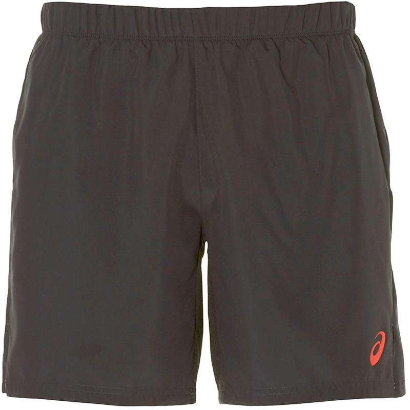 Pantalón Asics Short Club M 7IN Black Red
