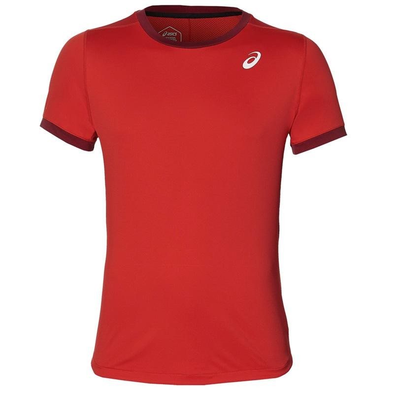 Camiseta Asics Padel SS Top Speed Red