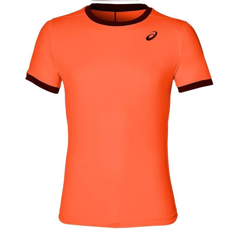 Camiseta Asics Padel SS Top Flash Coral