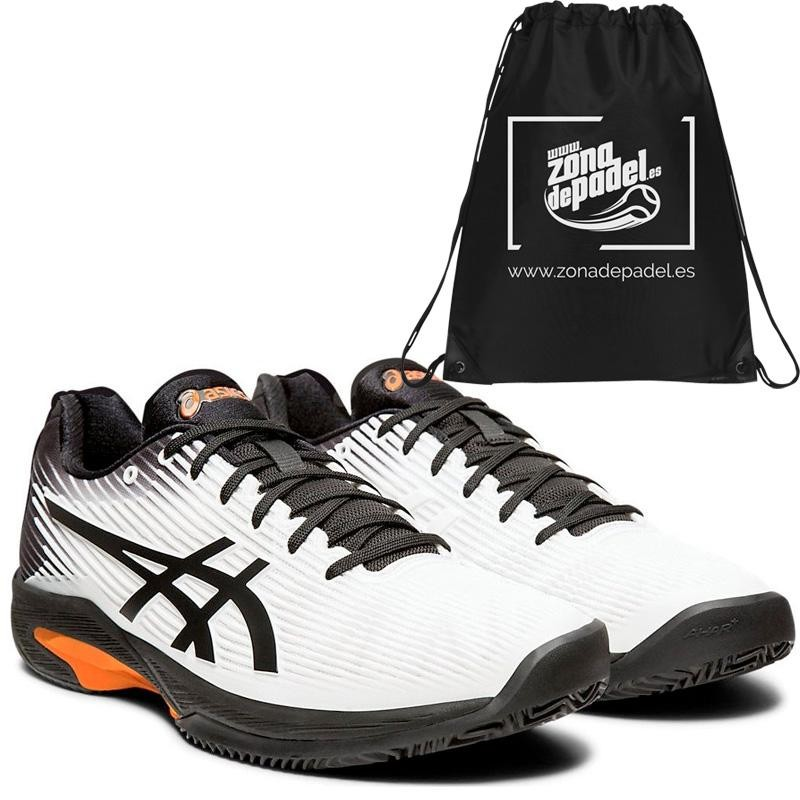 Asics Solution Speed FF Clay White Black 2019