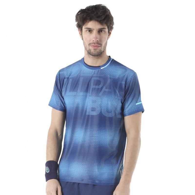 Camiseta Bullpadel John Azul Tinta 2019