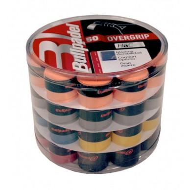 BullpadelCubo Overgrips Hac 50 unidades de colores