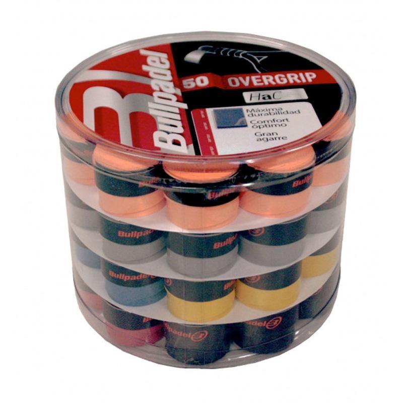 Cubo Overgrips Hac 50 unidades de colores