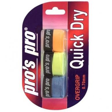Pros Pro Quick Dry 3 unidades variados