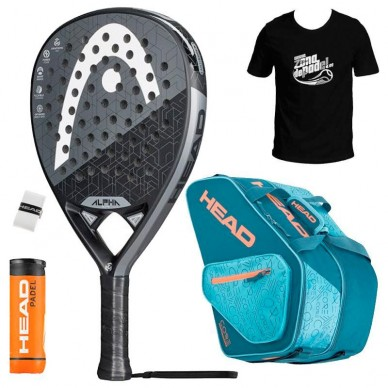 Head Pack Head Graphene 360 Alpha Elite + Paletero 2019