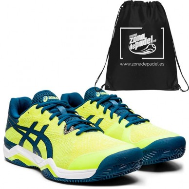Asics Gel Bela 7 Safety Yellow Mako Blue 2020