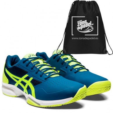 AsicsAsics Gel Lima Padel 2 Mako Blue Safety Yellow 2020