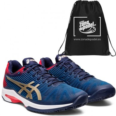 AsicsAsics Solution Speed FF Clay Peacoat Champagne 2020