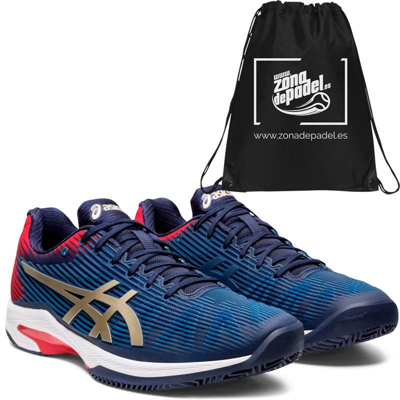Asics solution speed ff clay peacoat champagne 2020