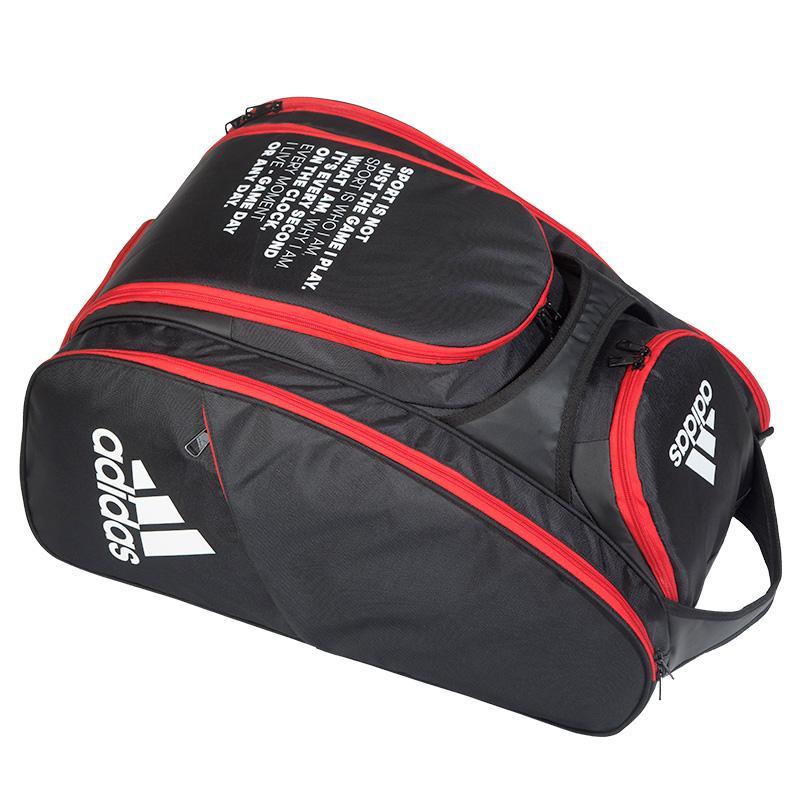 vendido en todo el mundo imágenes detalladas completamente elegante Paletero Adidas Multigame 2.0 Negro y Rojo - Zona de Padel