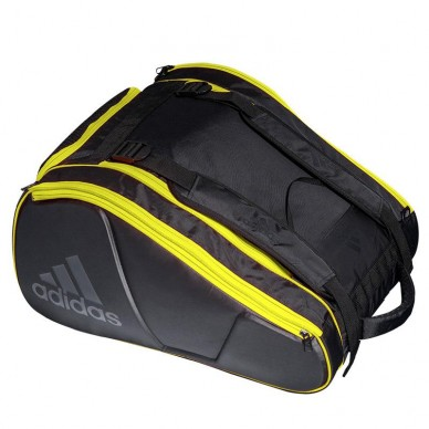 Adidas Paletero Adidas Pro Tour 2.0 Black Yellow