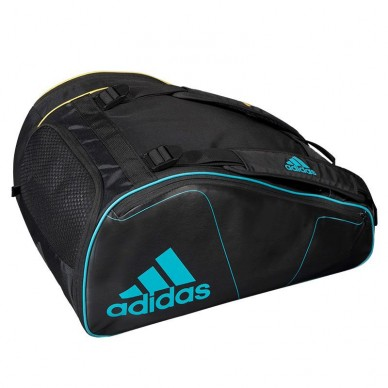 Adidas Paletero Adidas Tour 2.0 Black Yellow Blue