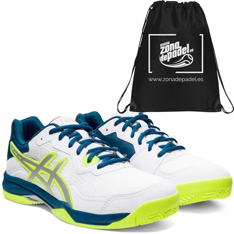 Asics Gel Padel Pro 4 SG White Pure Silver 2020