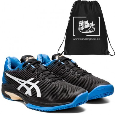 AsicsAsics Solution Speed FF Clay Black Blue Coast 2020