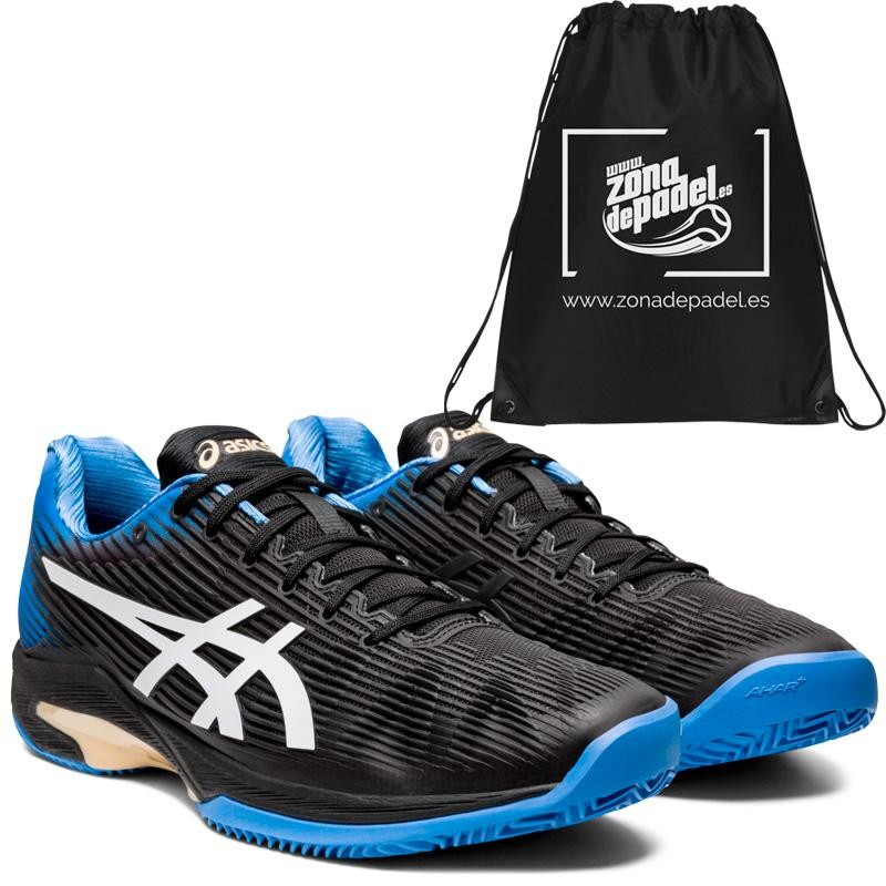 Asics Solution Speed FF Clay Black Blue Coast 2020