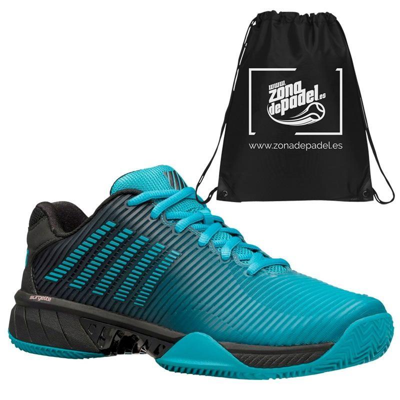 Zapatillas Kswiss Hypercourt Express 2 HB Algiers Blue Black 2020