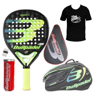 BullpadelPack Bullpadel Hack + Paletero 2020