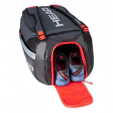 Paletero Head Delta Sport Black Orange 2020