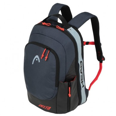 Mochila Head Delta Backpack Black Orange 2020