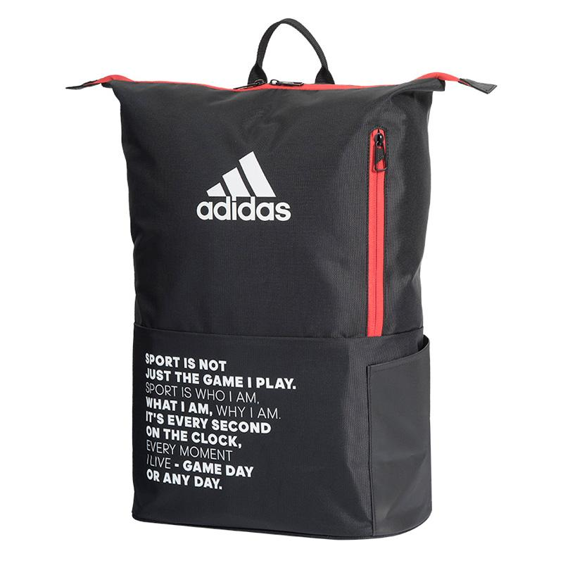 Adidas backpack multigame 2.0 black red