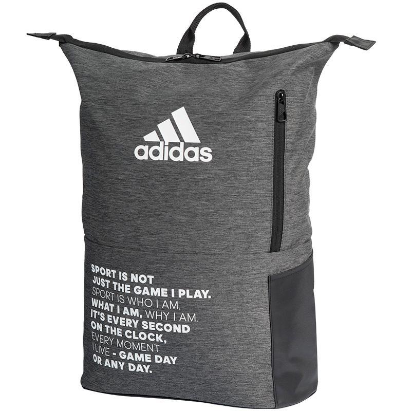 Adidas backpack multigame 2.0 black grey