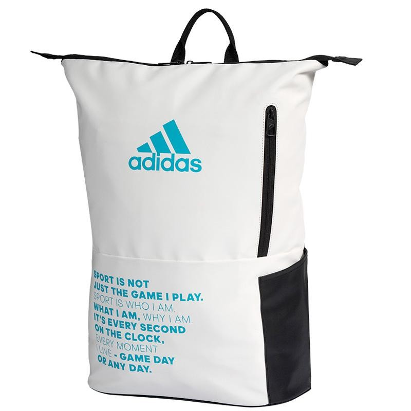 Adidas Backpack Multigame 2.0 White Blue