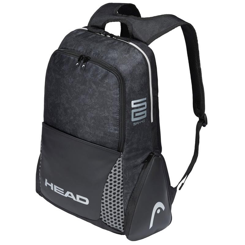 Mochila Head Alpha Sanyo Backpack Black 2020