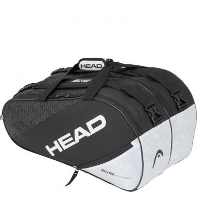 Head Paletero Head Elite Padel Supercombi Black White 2020