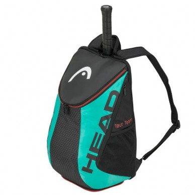 Head Mochila Head Tour Team BackPack Black Green 2020