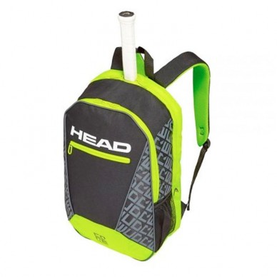 Head Mochila Core Backpack Black Yellow 2019